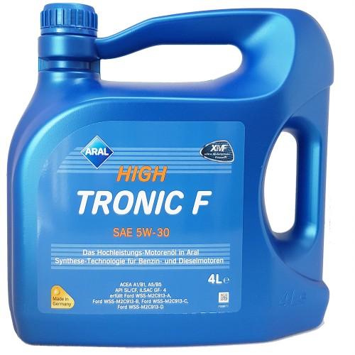 Масло моторное ARAL High Tronic F 5W30 (4L)