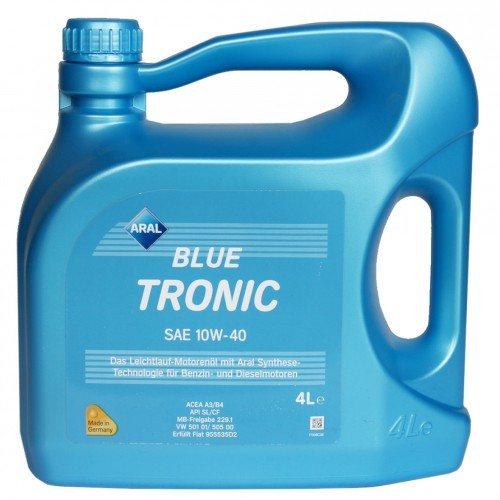 Масло моторное ARAL Blue Tronic 10W40 (4L)
