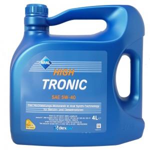 Масло моторное ARAL High Tronic 5W40 (4L)