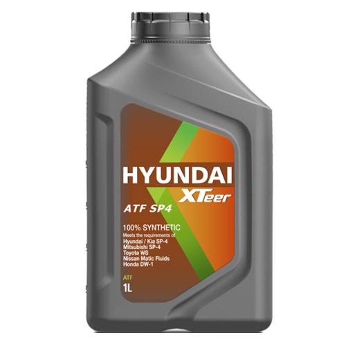 Масло трансмиссионное HYUNDAI XTEER ATF SP-IV (1L)