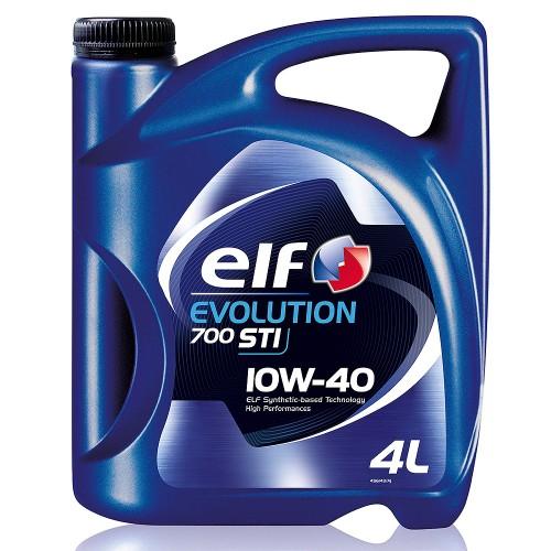 Масло моторное ELF EVOLUTION 700 STI 10W40 (4L)