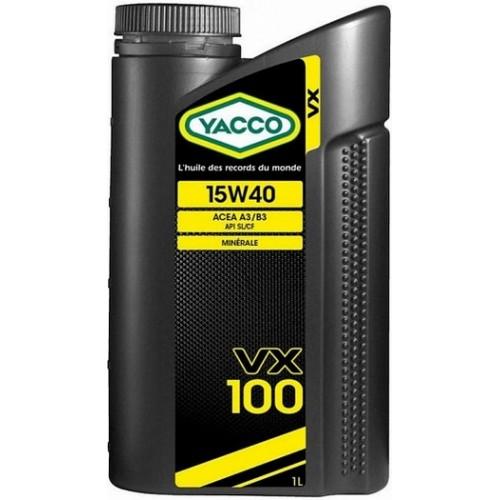 Объем 1л. YACCO VX 100 15W-40 - 303725