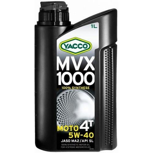 Объем 1л. YACCO MVX 1000 4T 5W-40 - 334225