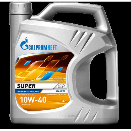 Моторное масло Gazpromneft Super 10W40 (4L)