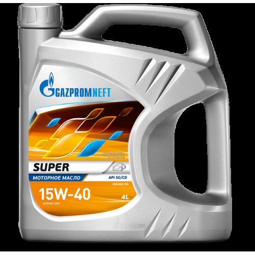 Моторное масло Gazpromneft Super 15W40 (4L)