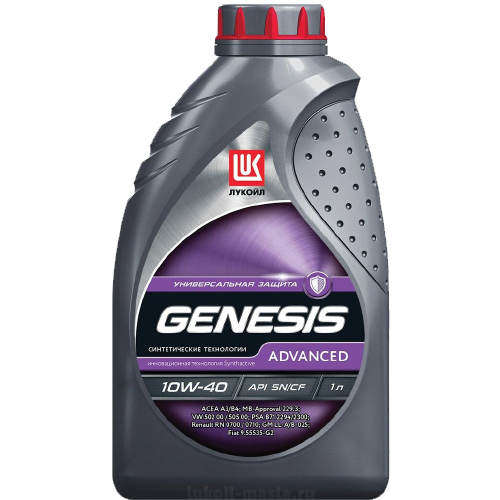 Масло моторное ЛУКОЙЛ Genesis Advanced 10W40 (1L)