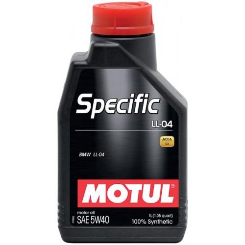 MOTUL SPECIFIС BMW LL-04 5W40 (1л.)