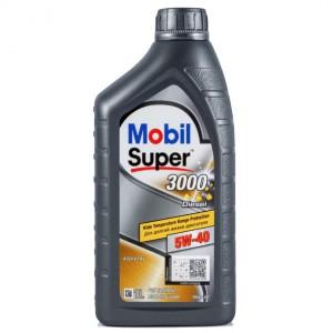 Масло моторное MOBIL SUPER 3000x1 5W40 (1L)