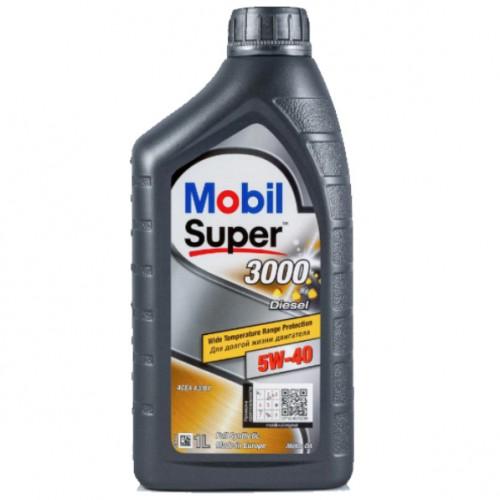 Масло моторное MOBIL SUPER 3000x1 DIESEL 5W40 (1L)