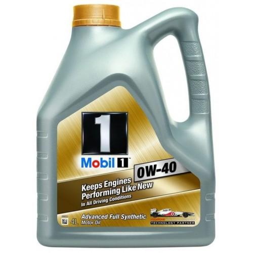 Масло моторное MOBIL 1 0W40 (4L)