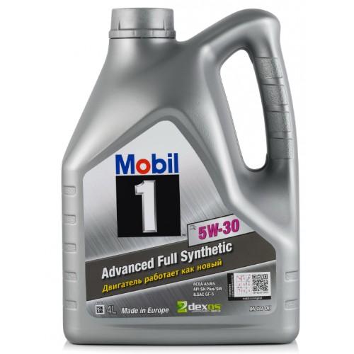 Масло моторное MOBIL 1 X 1 5W30 (4L)