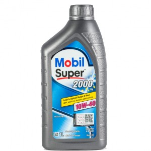 Масло моторное MOBIL SUPER 2000x1 10W40 (1L)