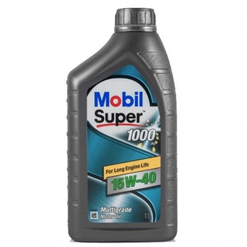 Масло моторное MOBIL SUPER 1000x1 15W40 (1L)