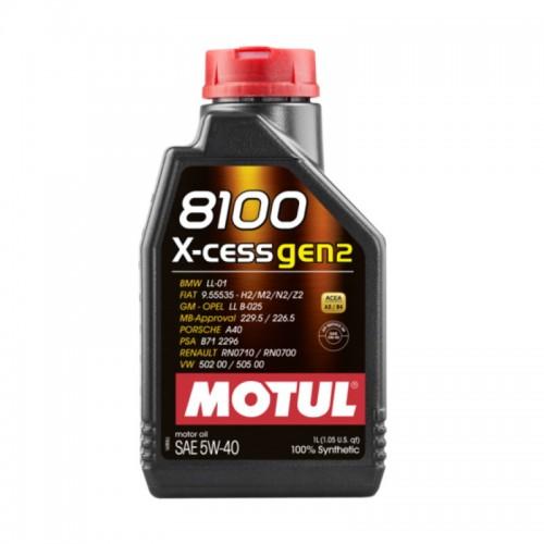 MOTUL 8100 X-cess GEN2 5W40 (1L)