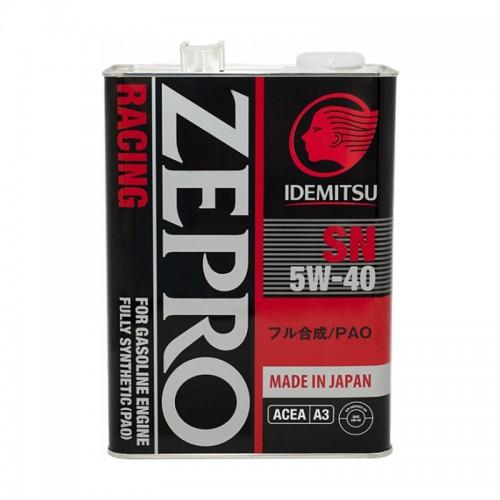IDEMITSU Zepro Racing 5W-40 4 л