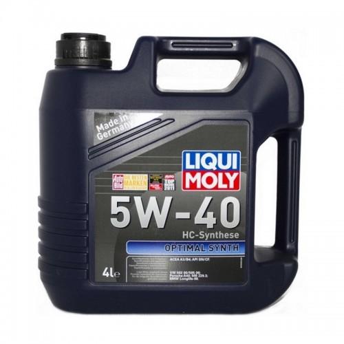 LIQUI MOLY Optimal Synth 5W-40 4 л
