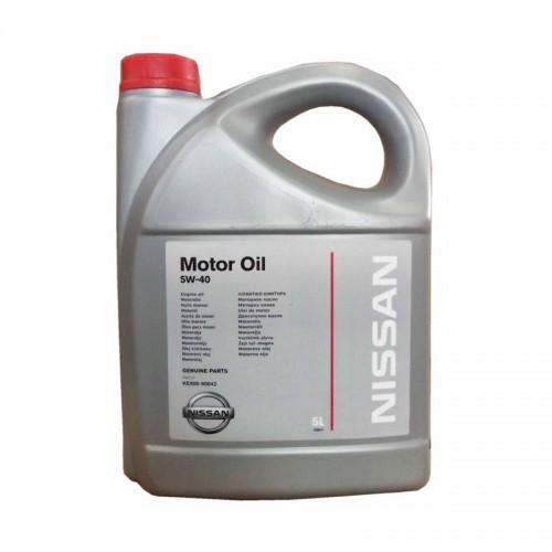 Масло моторное NISSAN KE90090042 5W40 (5L)