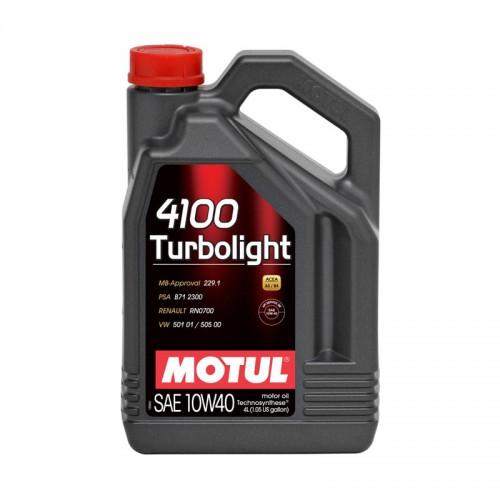 MOTUL 4100 Turbolight 10W40 (4L)