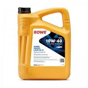 Моторное масло ROWE HIGHTEC SUPER LEICHTLAUF HC-O 10W-40 4 л