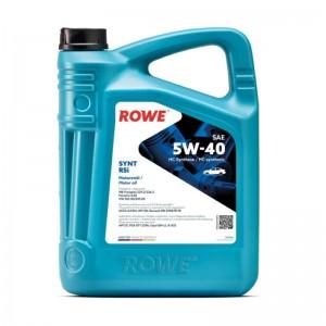 Моторное масло ROWE Hightec Synt RSi SAE 5W-40 4 л