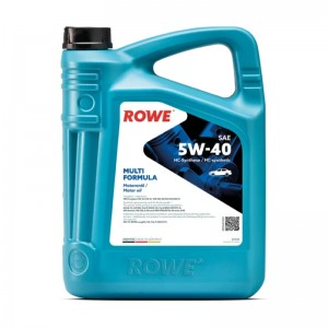 Моторное масло ROWE HIGHTEC MULTI FORMULA 5W-40 4 л