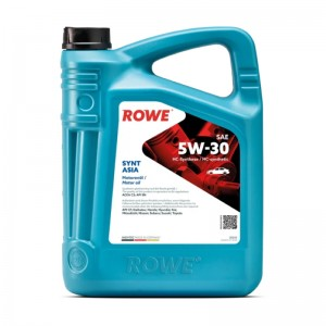 Моторное масло ROWE Hightec Synt Asia SAE 5W-30 4 л
