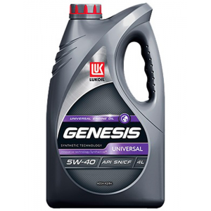 Масло моторное ЛУКОЙЛ Genesis Universal 5W40 SN/CF (4L)