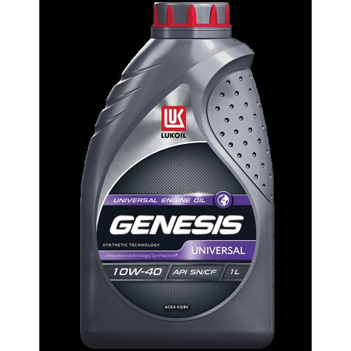 Масло моторное ЛУКОЙЛ Genesis Universal 10W40 SN/CF (1L)