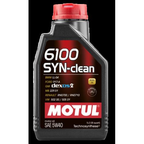 MOTUL 6100 Syn-Clean 5W40 (1L)