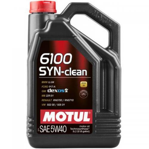 MOTUL 6100 Syn-Clean 5W40 (4L)