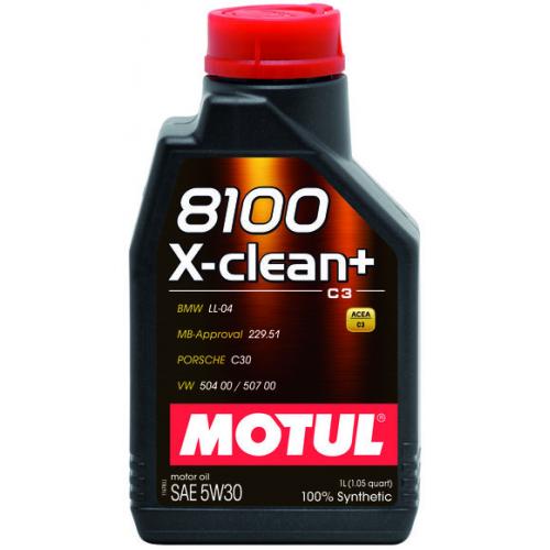 MOTUL 8100 X-clean + 5W30 (1L)