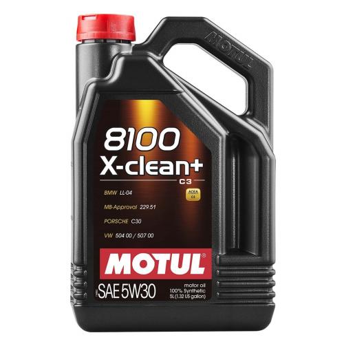 MOTUL 8100 X-clean + 5W30 (5л)