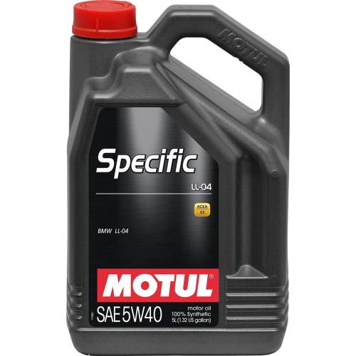MOTUL SPECIFIС BMW LL-04 5W40 (5л.)
