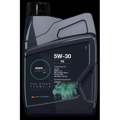 Моторное масло AVISTA pace EVO FE SAE 5W30 (1л)
