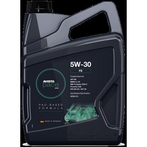 Моторное масло AVISTA pace EVO FE SAE 5W30 (4л)