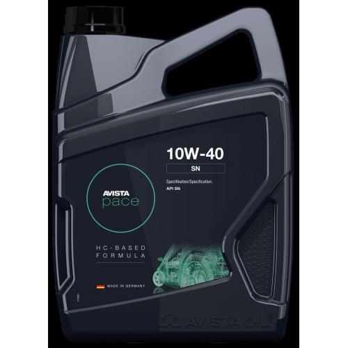 Моторное масло AVISTA pace SN SAE 10W40 (4л)