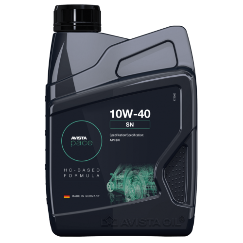 Моторное масло AVISTA pace SN SAE 10W40 (1л)