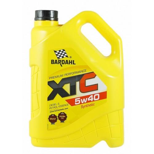 Масло моторное BARDAHL XTC 5W40 SN/CF A3/B4 (5л)