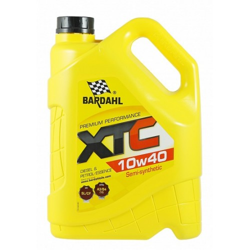 Масло моторное BARDAHL XTC 10W40 SL/CF A3/B4 (5л)
