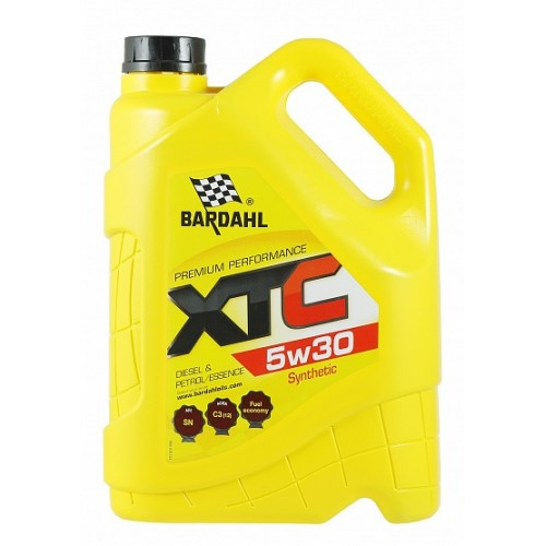 Масло моторное BARDAHL XTC 5W30 SN/C3 (5л)
