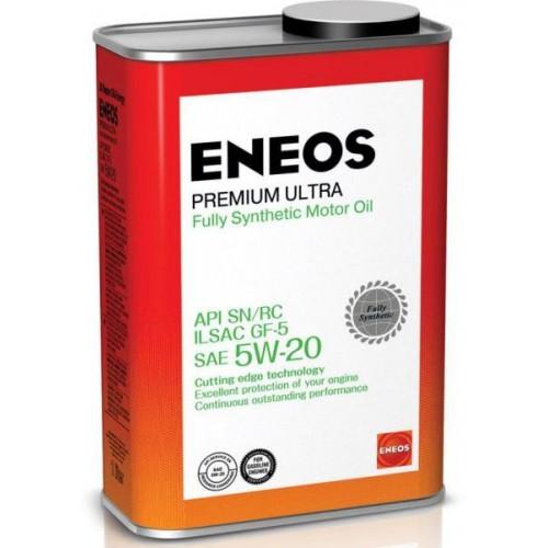 Масло моторное ENEOS 5W20 Premium Ultra  APi SN/RC ILSAC GF-5 (1л)