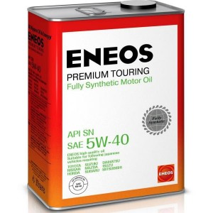 Масло моторное ENEOS 5W40 Premium Touring  APi SN (4л)