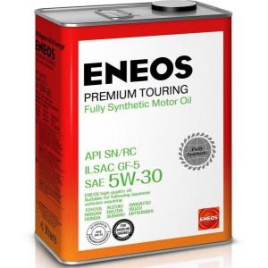 Масло моторное ENEOS 5W30 Premium Touring  APi SN/RC ILSAC GF-5 (4л)