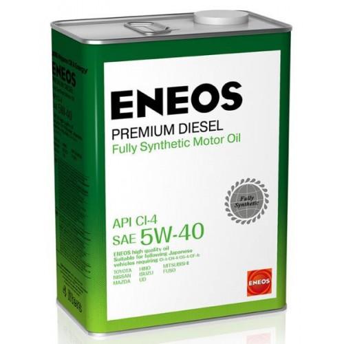 Масло моторное ENEOS 5W40 Premium Diesel  APi CI-4 (4л)