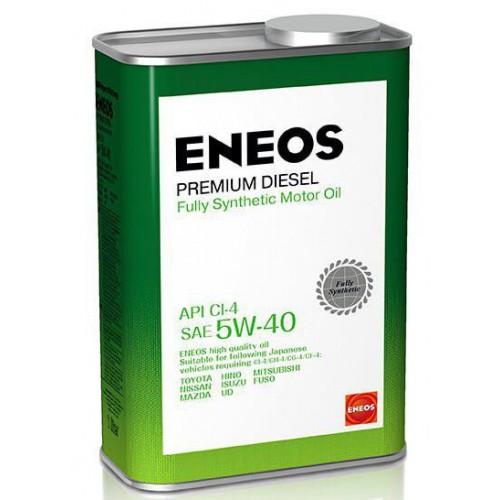 Масло моторное ENEOS 5W40 Premium Diesel  APi CI-4 (1л)