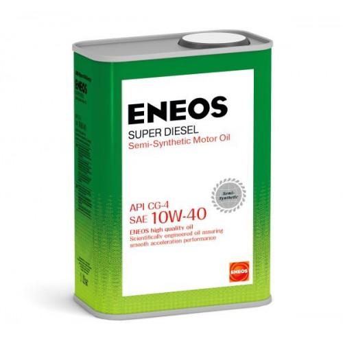 Масло моторное ENEOS 10W40 Super Diesel  APi CG-4 (1л)