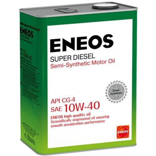 Масло моторное ENEOS 10W40 Super Diesel  APi CG-4 (4л)