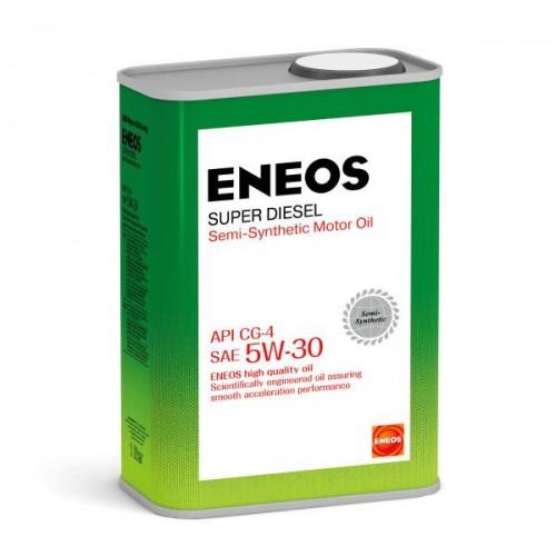 Масло моторное ENEOS 5W30 Super Diesel  APi CG-4 (1л)