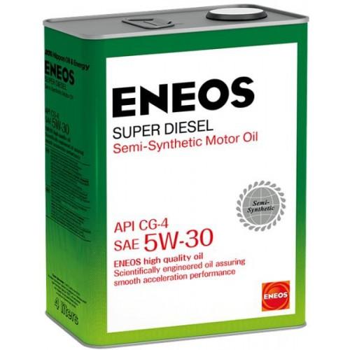 Масло моторное ENEOS 5W30 Super Diesel  APi CG-4 (4л)