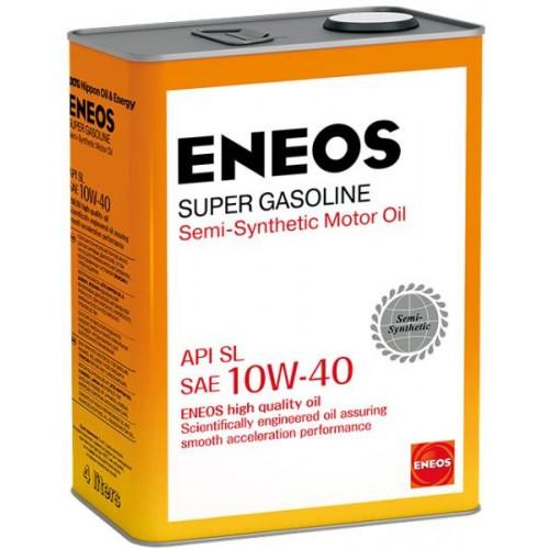 Масло моторное ENEOS 10W40 Super Gasoline  APi SL (4л)